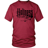 Holiness is Still Right Christian T-Shirt (Mens/Unisex) (Black Letters) (Multiple Colors) - Paraclete Tees  - 3