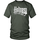 Holiness is Still Right Christian T-Shirt (Mens/Unisex) (White Letters) (Multiple Colors) - Paraclete Tees  - 9