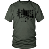 Holiness is Still Right Christian T-Shirt (Mens/Unisex) (Black Letters) (Multiple Colors) - Paraclete Tees  - 5
