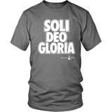 Soli Deo Gloria Christian T-Shirt (Mens/Unisex) (Multiple Colors) - Paraclete Tees  - 8