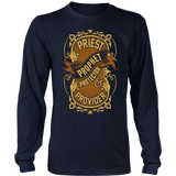 Priest, Prophet, Protector, Provider Christian Long Sleeve T-Shirt (Multiple Colors) - Paraclete Tees  - 4