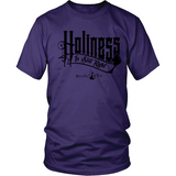 Holiness is Still Right Christian T-Shirt (Mens/Unisex) (Black Letters) (Multiple Colors) - Paraclete Tees  - 4