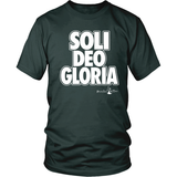Soli Deo Gloria Christian T-Shirt (Mens/Unisex) (Multiple Colors) - Paraclete Tees  - 5