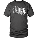 Holiness is Still Right Christian T-Shirt (Mens/Unisex) (White Letters) (Multiple Colors) - Paraclete Tees  - 7