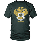 Duty is Mine; Results are God's Christian T-Shirt (Unisex/Mens) (Gold/White) (Multiple Colors) - Paraclete Tees  - 5