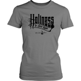 Holiness is Still Right Christian T-Shirt (Womens) (Black Letters) (Multiple Colors) - Paraclete Tees  - 5