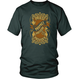 Priest, Prophet, Protector, Provider Christian T-Shirt (Multiple Colors) - Paraclete Tees  - 6