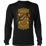 Priest, Prophet, Protector, Provider Christian Long Sleeve T-Shirt (Multiple Colors) - Paraclete Tees  - 7
