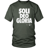 Soli Deo Gloria Christian T-Shirt (Mens/Unisex) (Multiple Colors) - Paraclete Tees  - 9