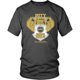 Duty is Mine; Results are God's Christian T-Shirt (Unisex/Mens) (Gold/White) (Multiple Colors) - Paraclete Tees  - 6