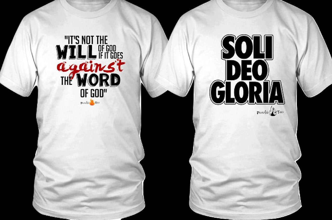 Soli Deo Gloria Graphic