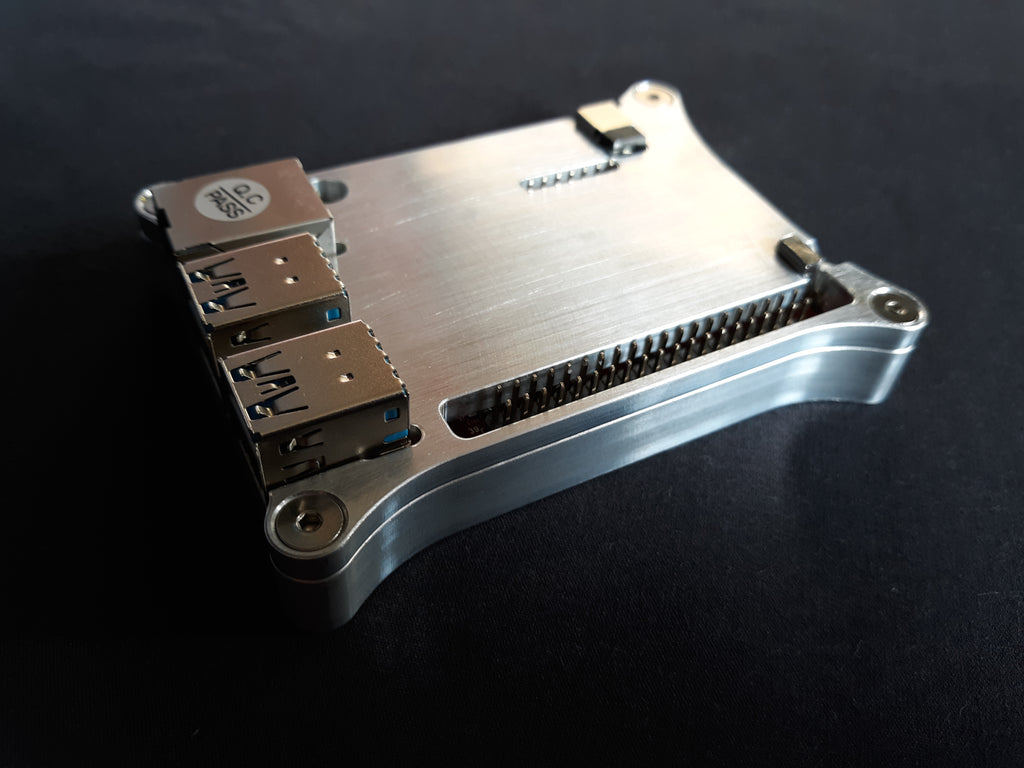 ODroid C4 OPEN SHIELD Case with Heat Dissipation