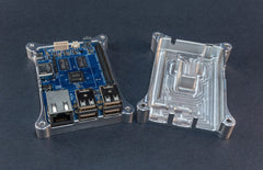 ODroid C1+ SECURE Case with Heat Dissipation