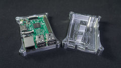Pi Holder (Pi 3 B only) SECURE Case with Heat Dissipation