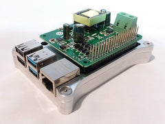 Raspberry Pi 4 OPEN SHIELD Case with Heat Dissipation