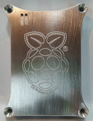 Raspberry Pi 4 Logo Engraving