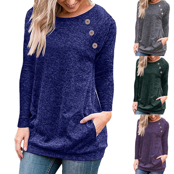 Button Pocket Top