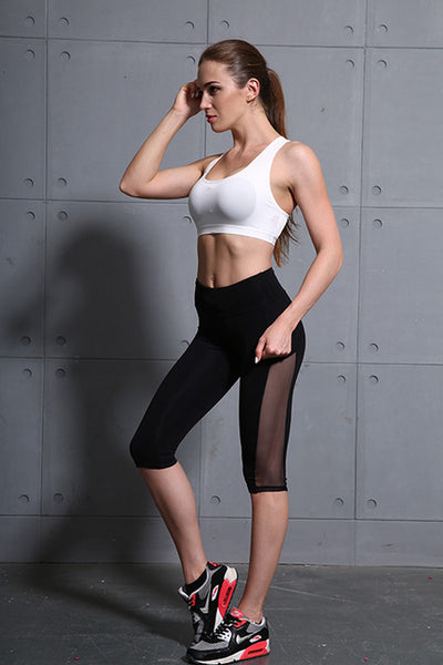Mesh Knee Length Legging