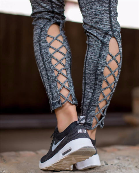 Quick Dry Compression Cross Legging