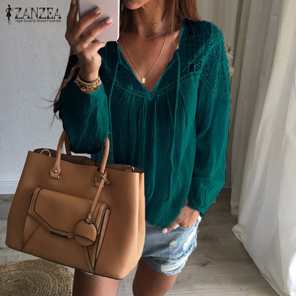 Lace Crochet Blouse