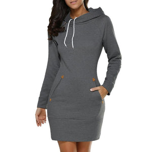 Hooded Mini Dress