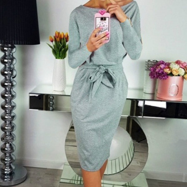 Bandage Bodycon Robe Dress