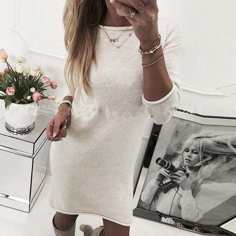 Knitted Vestido Dress