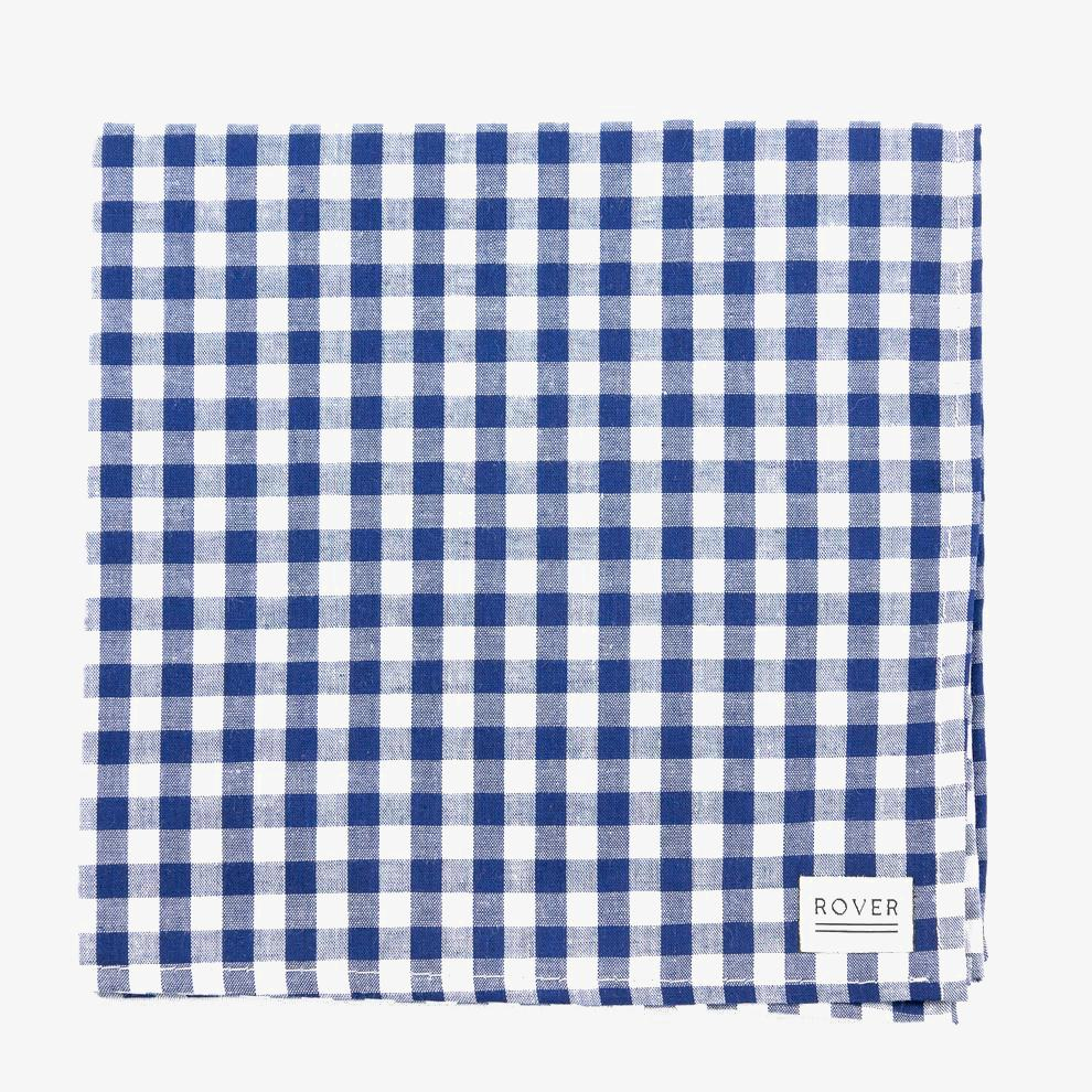 dog bandana gingham