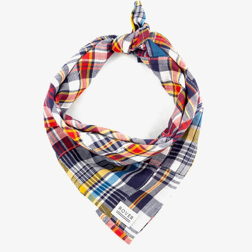 dog bandana madras