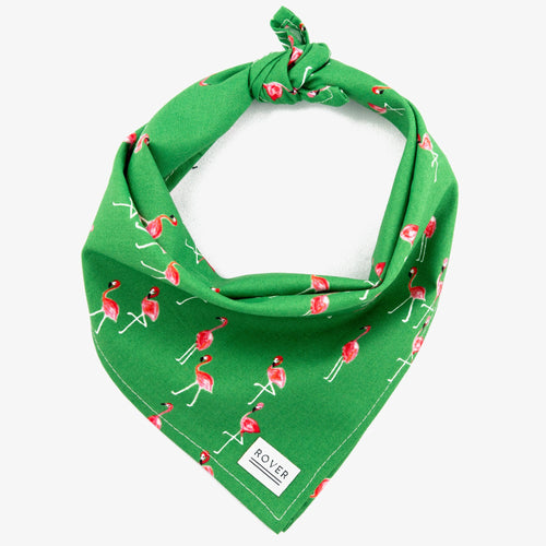 Dog Bandana Flamingo