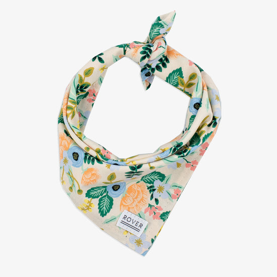 rifle paper co dog bandana