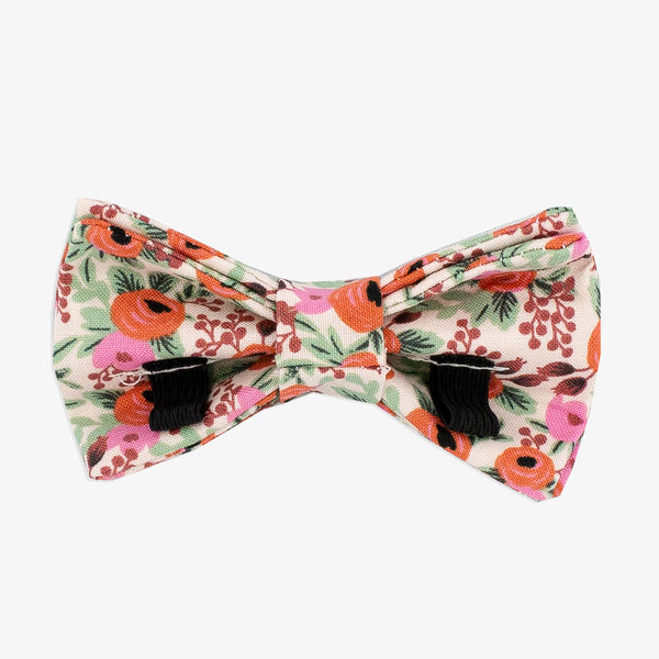 Pink Dog Bow Tie