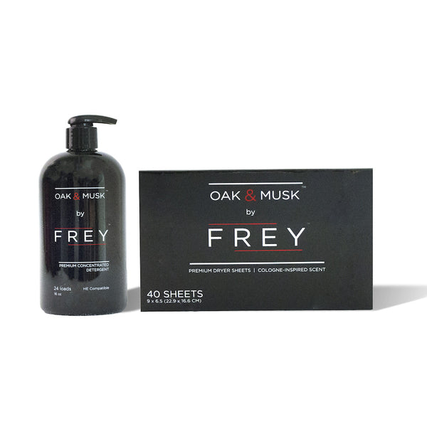 Concentrated FREY + Dryer Sheets - FREY: Detergent for Men  - 1