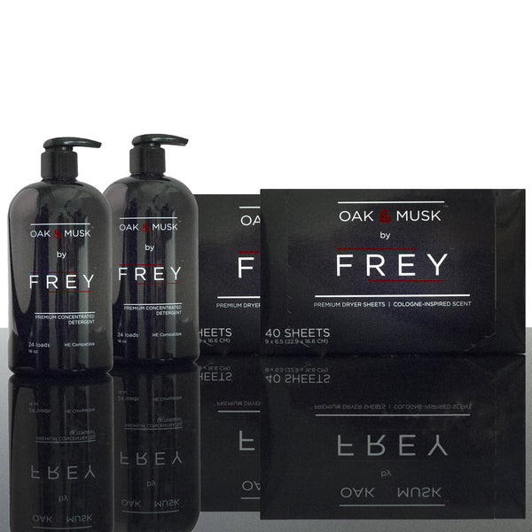2x Concentrated FREY + Dryer Sheets (Text Re-order)