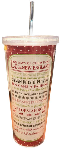 Christmas in New England Tumbler Cup