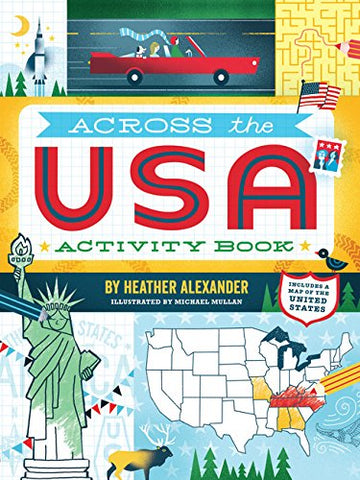 Across the USA Activity Book
