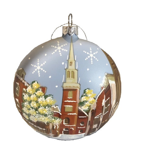 "Custom Painted Old North Church ""Ball"""
