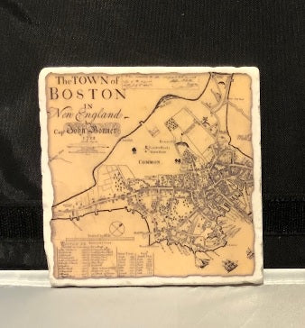 Bonner Map Coaster