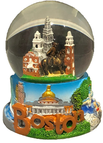 Boston Skyline Snowglobe