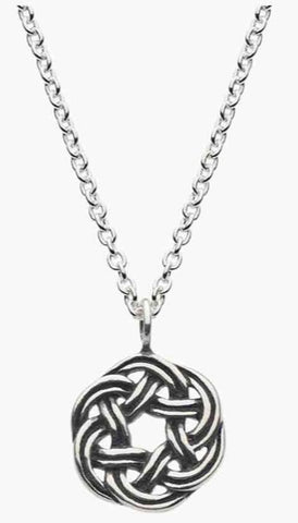 Celtic Wreath Knot Necklace