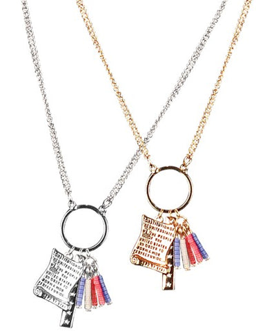 U.S. Constitution Necklace