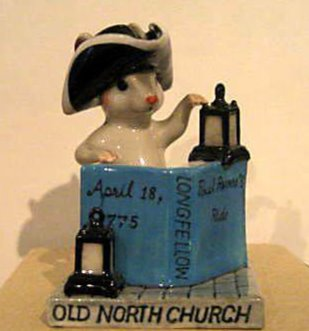 Old North Church Mouse
