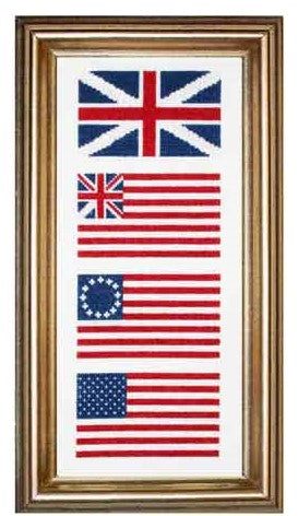 Historic Flag Cross Stitch Kit