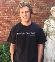 """Real Men Drink Tea"" Shirt"
