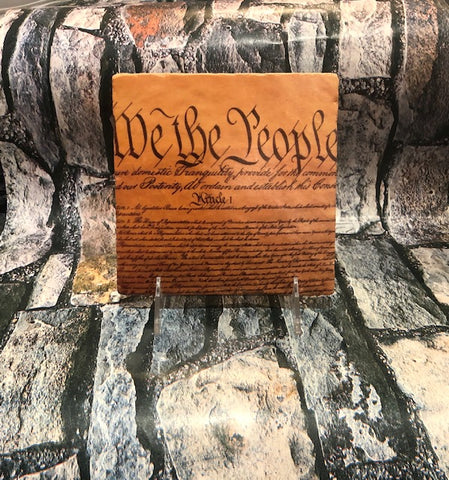 We the People Trivet