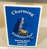 Sterling Silver Old North Church Charm
