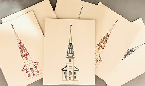 Old North Church Notecard Set