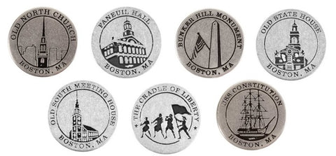 Freedom Trail Commemorative Token Set