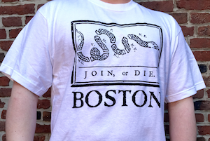 Join or Die Tee Shirt
