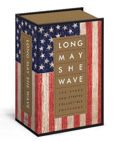 Long May She Wave Collectible Postcards
